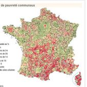 [Carte interactive] La pauvreté, urbaine, trop urbaine