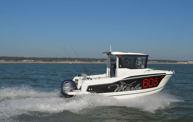 Essai du Jeanneau Merry Fisher 605 Marlin