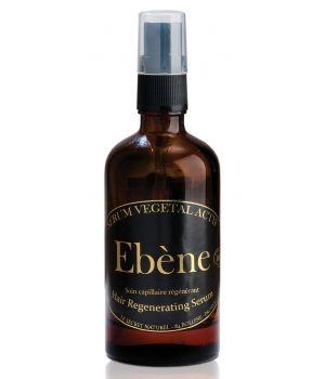 Test N°1 ! (Monde Bio) Combo sérum végétal actif d'Ebène/régénérant sensitive capillaire d'Orthebio.