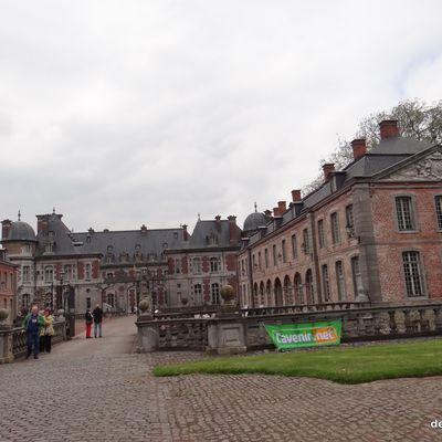 Chateau de Beloeil et ses amaryllis