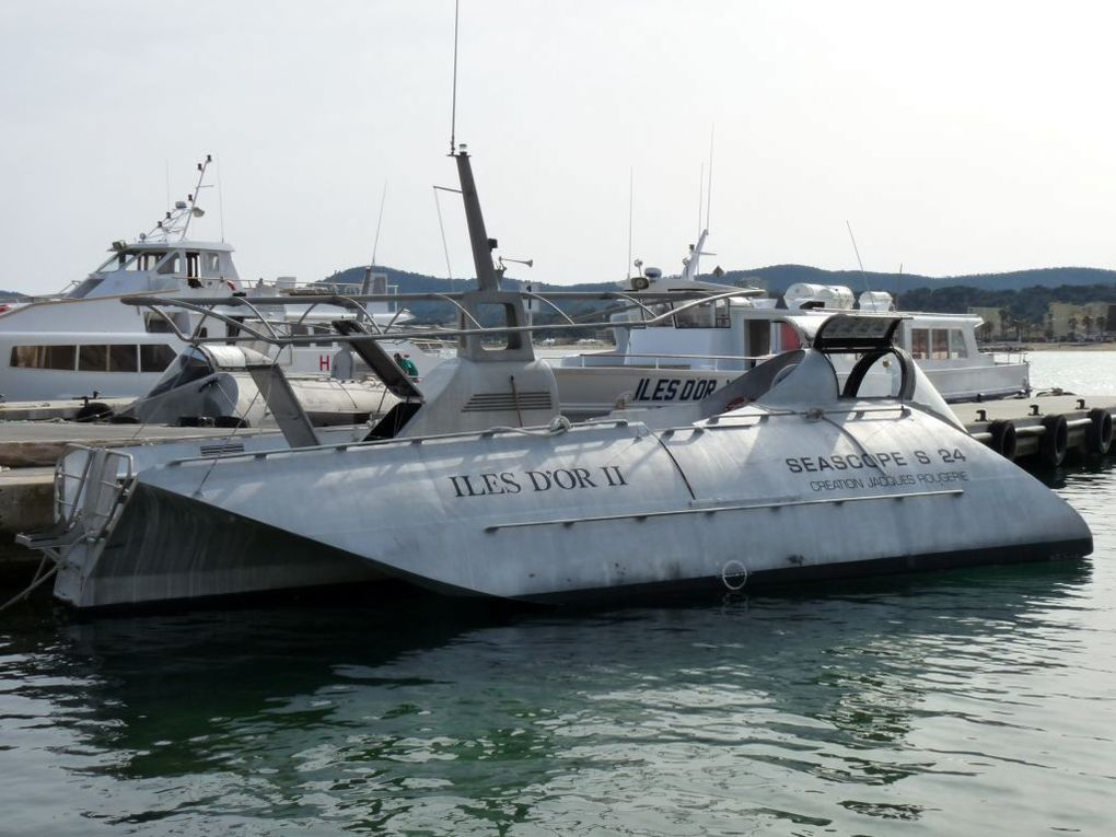 ILES D'OR  II  , au Lavandou , pour la visite des fonds marin