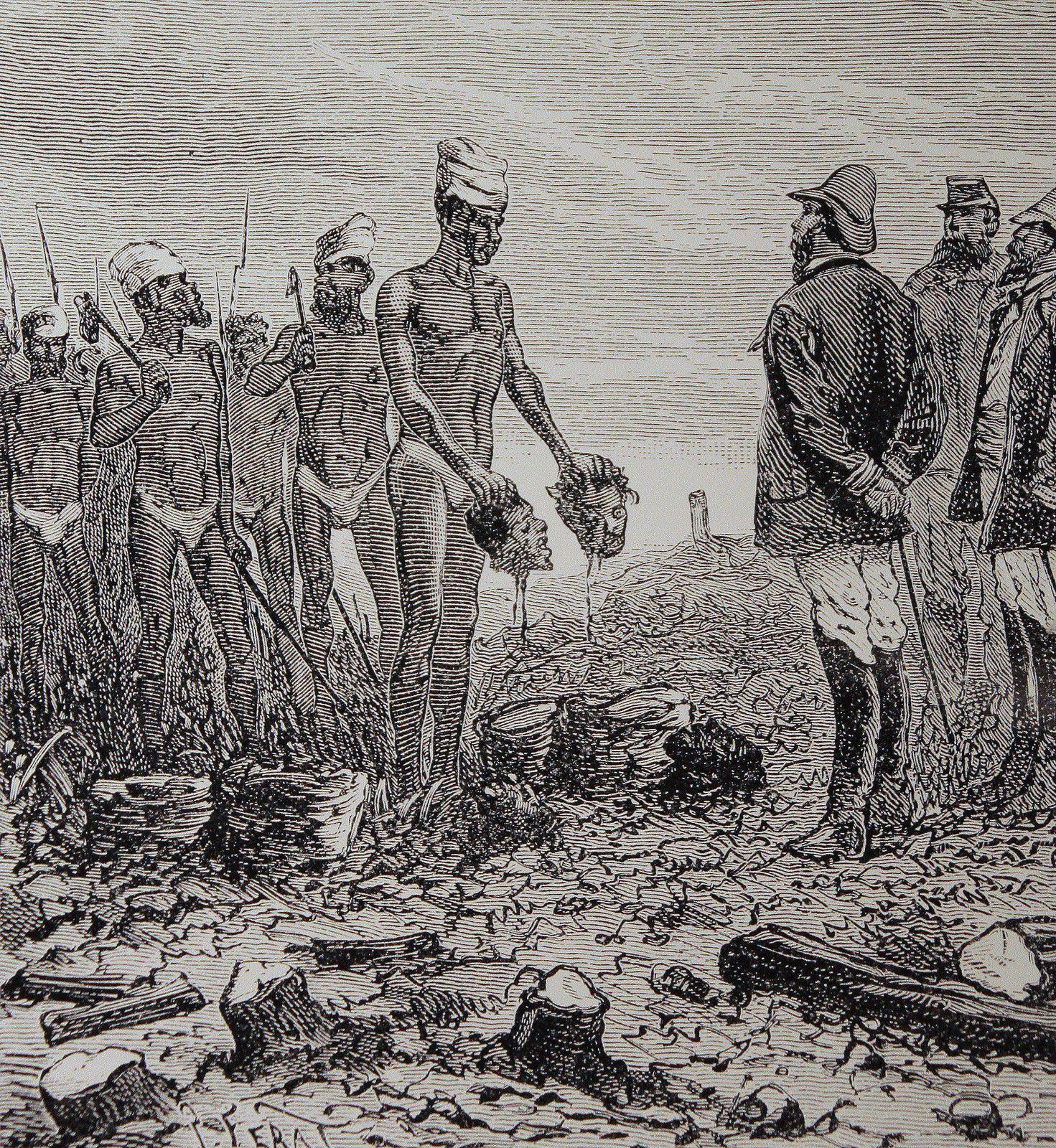 Insurrection kanak de 1878 - Elle est écrasée par les Français en 1879 - En 1880 se crée la Société Le Nickel (SLN)