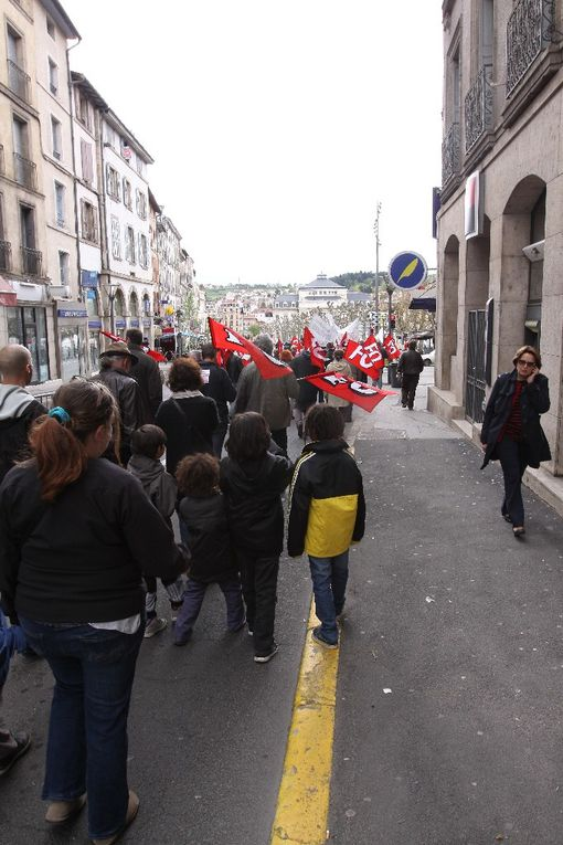 L'album photos du 1er mai 2015 au Puy
