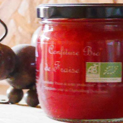 Nouveau produit de la p'tite Fourmi : La confiture de fraises