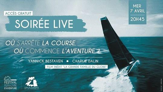 Soirée Live avec Yannick Bestaven et Charlie Dalin