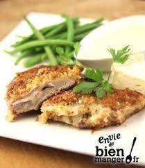 Escalope Panée et sa Sauce au Camembert