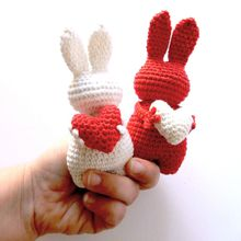 Adorables petits amigurumi: Lapins au crochet