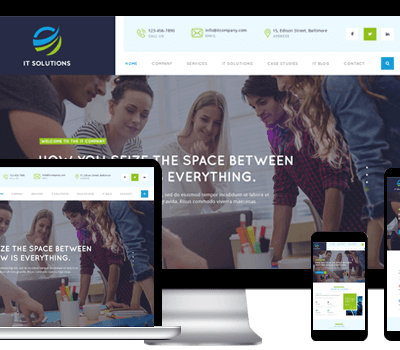 Free IT Company WordPress Theme For It Services