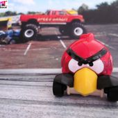 RED BIRD ANGRY BIRDS HOT WHEELS 1/64 IMAGINATION SERIES - car-collector.net