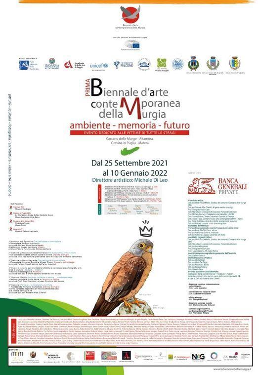 Ermanno Senatore alla Prima biennale d'arte contemporanea Della Murgia