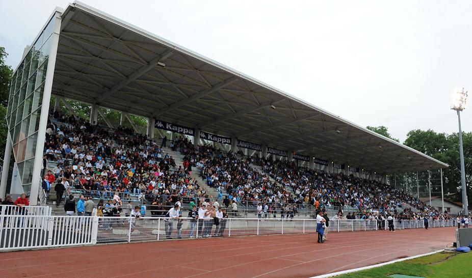 Mercredi 21 Juillet 2010. Stade Jean Dauger à Bayonne.  Match amical : Olympique de Marseille - Toulouse Football Club