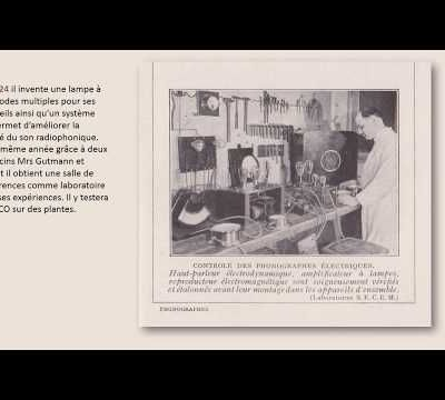 biographie de Georges Lakhovsky en images