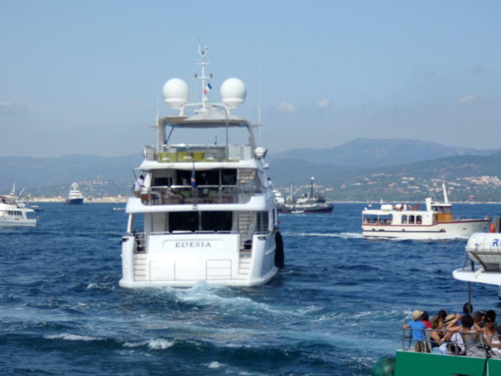 EDESIA , appareillant du port de Saint Tropez le 06 aout 2019