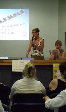 Photo du 21 mai 2011: première réunion des fibromyalgiques à MONTAUBAN
