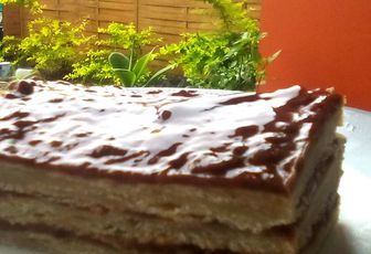 Millefeuilles au chocolat
