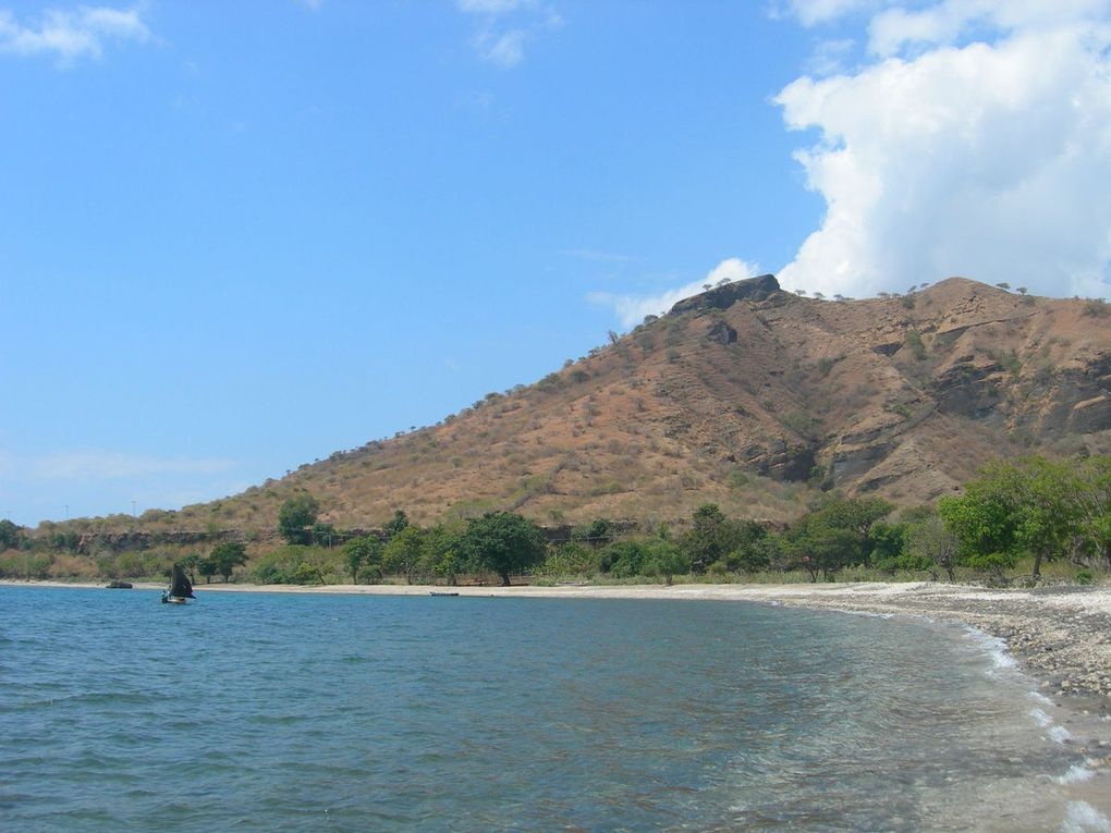 Aperçu de Sumbawa, île indonésienne.