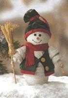 Décos de Noël faites de pots en terre cuite ...