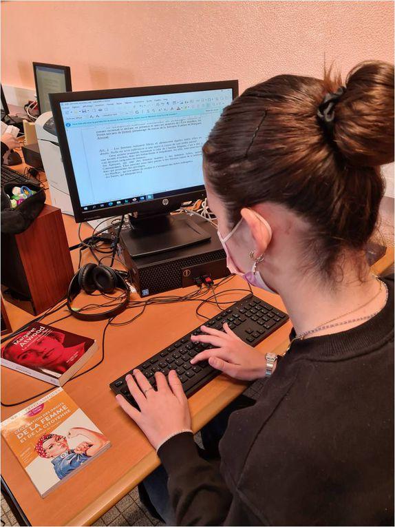 Atelier d'écriture d'appropriation - Déclarations 2021