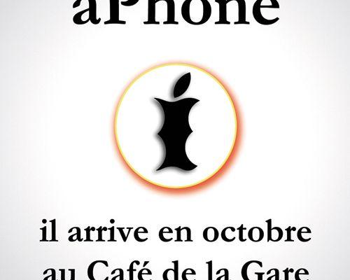 Ma nouvelle pièce : aPhone !