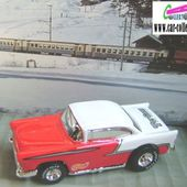 55 CHEVY HOT WHEELS 1/64 TIM FLOCK LIMITED EDITION - car-collector.net