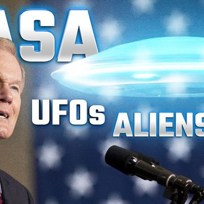 NASA Administrator Bill Nelson Says UFOs Could be the Work of Intelligent Extraterrestrial Life 👽