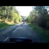 Goldwing - ballade en alsace vers Niderviller 10 - départ lac pierre percée
