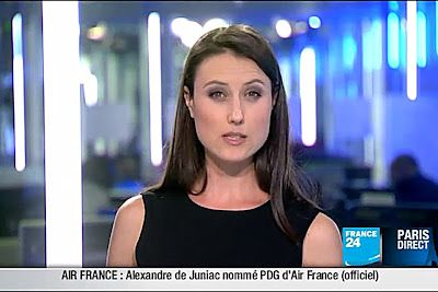 2011 11 17 @22H00 - AUDE LECHRIST - FRANCE 24 - PARIS DIRECT