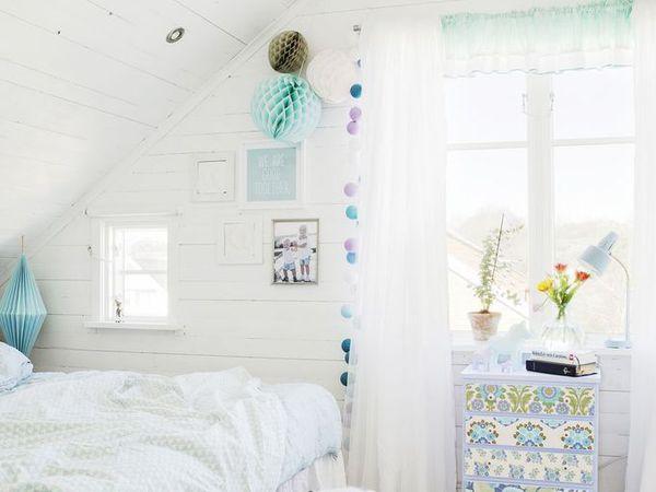 Un intérieur léger, frais et coloré