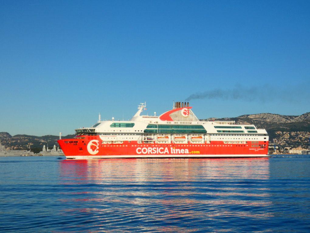 DANIELLE CASANOVA  , appareillant de Toulon le 12 Janvier 2020