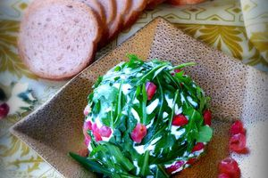 Boule de Noël au fromage- Christmas cheeseball
