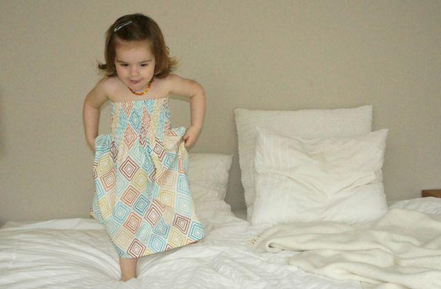 La robe à smocks