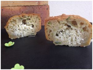 Muffins courgette fromage