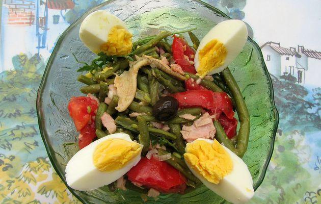 Salade de haricots verts à l'italienne