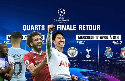 [Foot] Manchester City / Tottenham sur RMC Sport 1 et Porto / Liverpool sur RMC Sport 2 !
