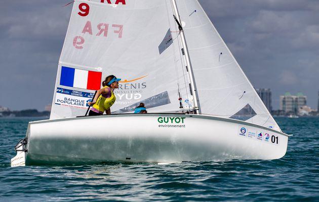 World Cup Series – Médaille d'or pour Camille Lecointre et Aloïse Retornaz en 470