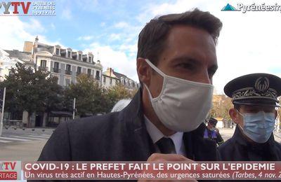 Covid-19 : Le point sur l'épidémie en Hautes Pyrénées (4 nov 20)