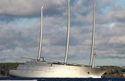 Le groupe Privinvest livre le plus grand superyacht à voile jamais construit, Sailing Yacht A
