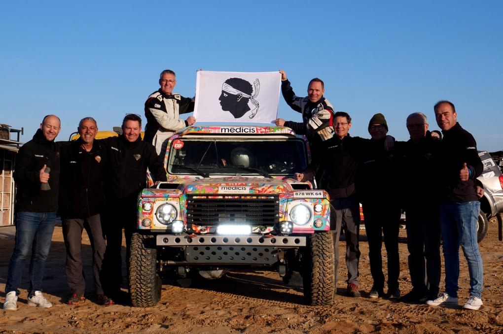 Au matin de la dernière étape de ce Dakar 2020.