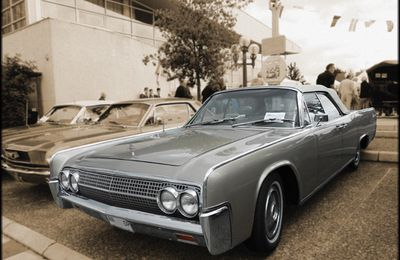 AF48 • Lincoln Continental Convertible (74A) '63