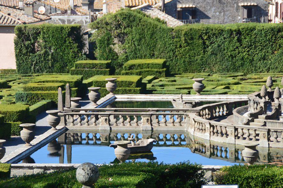 Les jardins à l'italienne