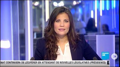 2013 06 03 - ELISABETH ALLAIN - FRANCE 24 - PARIS DIRECT @06H40