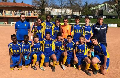 U15 - La série continue contre AS Genay !