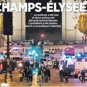 ATTENTAT des Champs-Élysées : un communiqué de la CGT POLICE - Commun COMMUNE [le blog d'El Diablo]
