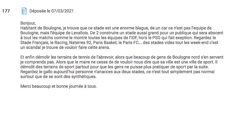 Boulogne-Billancourt... on arrête les conneries ?