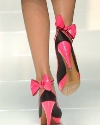 Talons hauts - Noeuds - Pink - Picture - Free