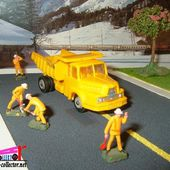 CAMION UNIC ZU120 BENNE MARREL NOREV 1/86 - car-collector