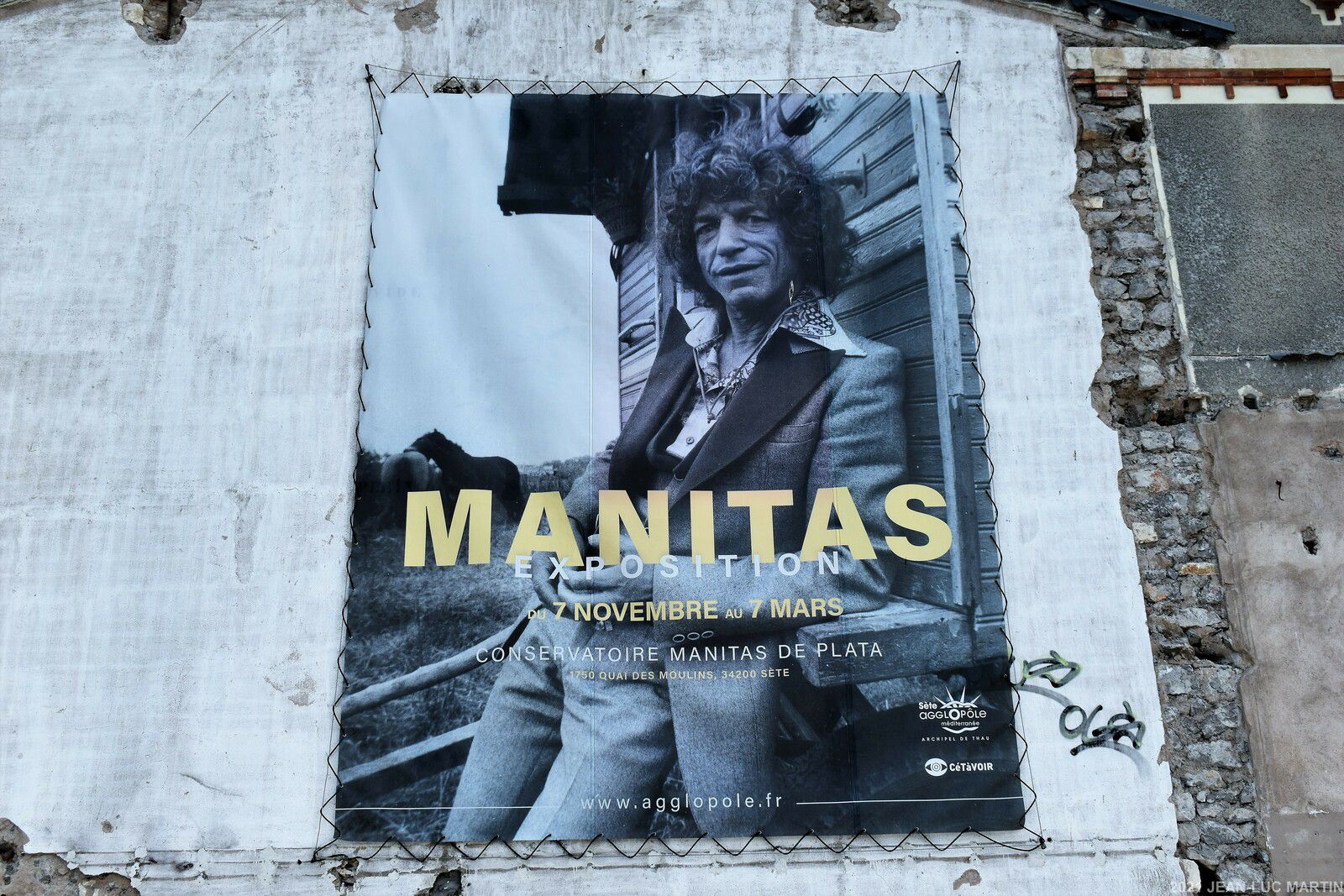EXPOSITION MANITAS DE PLATA AU CONSERVATOIRE DE SETE JUSQU'AU 31/12/2021