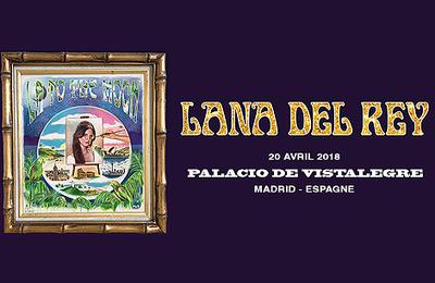 Lana Del Rey sur la scène du Palacio De Vistalegre de Madrid, Espagne. (20.04.2018)