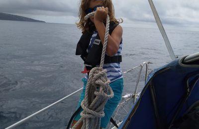 Le départ des Manua de Terceira aux Acores