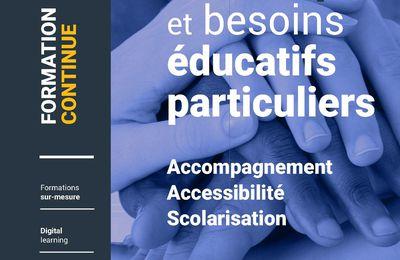 Catalogue de formation sur le handicap et les besoins éducatifs particuliers de l'INSHEA